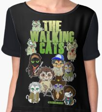 THE WALKING CATS Chiffon Top