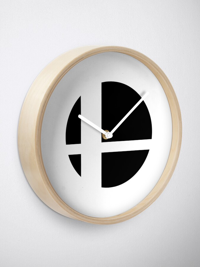 Alternate view of Super Smash Bros. Ultimate LOGO! Clock