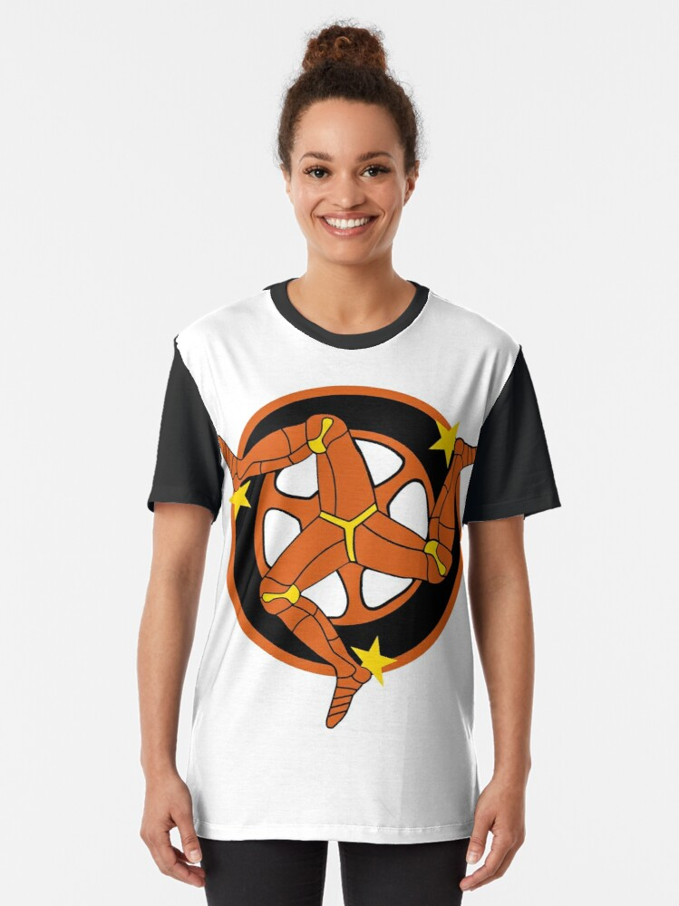 Alternate view of The Manx Triskelion 2 Graphic T-Shirt