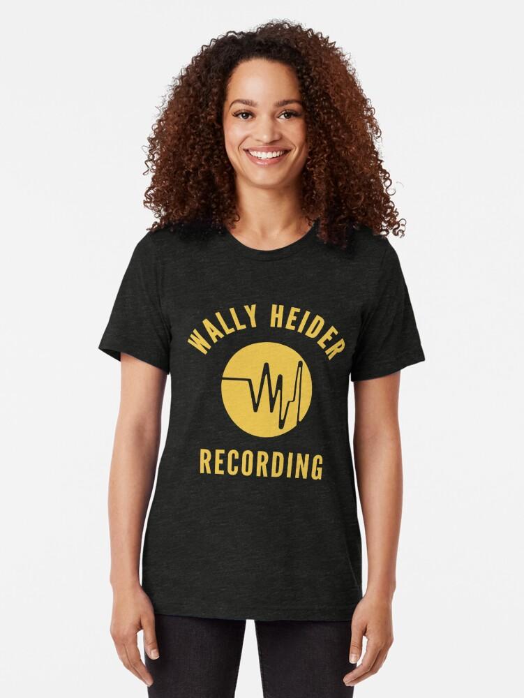 Alternate view of Wally Heider Recording Tri-blend T-Shirt