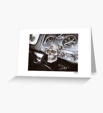 DONUT DERELICTS • 005 • 32 roadster Greeting Card