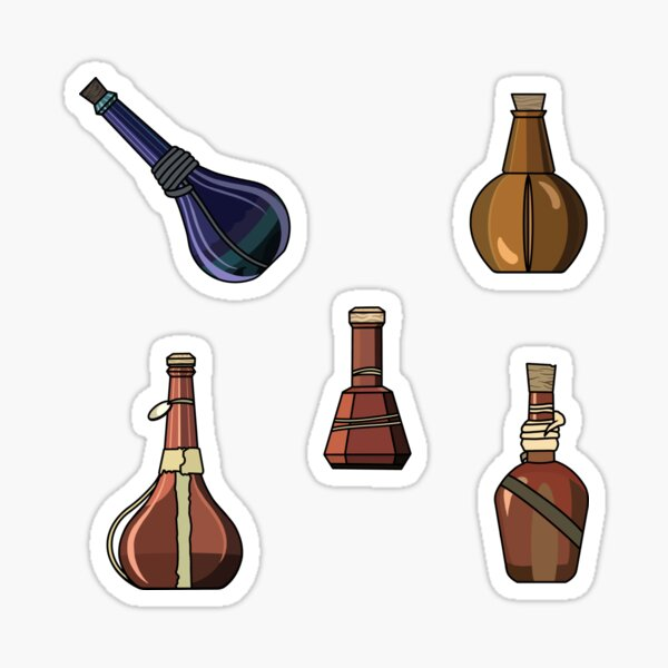 Potions! Sticker