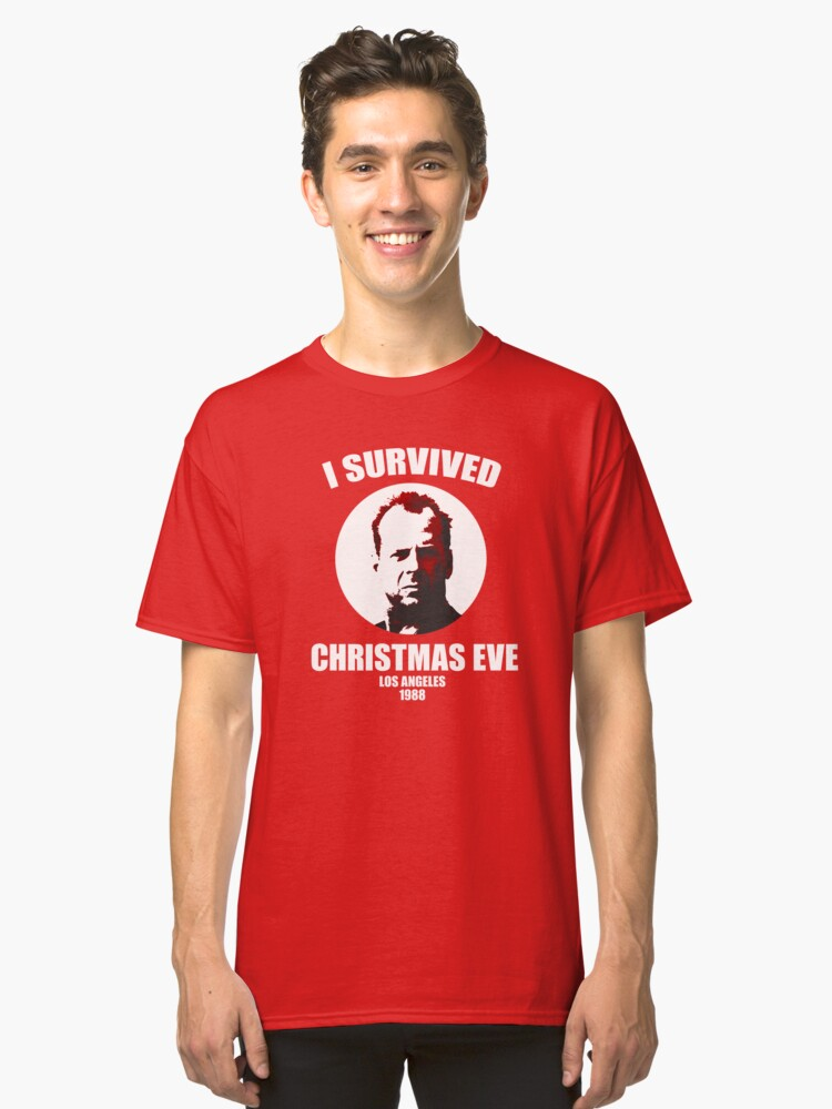 Christmas Party Survivor Classic T-Shirt Front