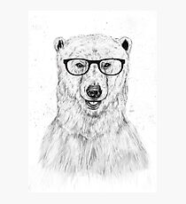 Geek bear Photographic Print