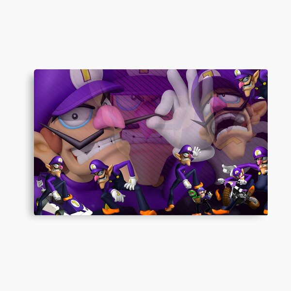 The Best Boy - Waluigi Canvas Print