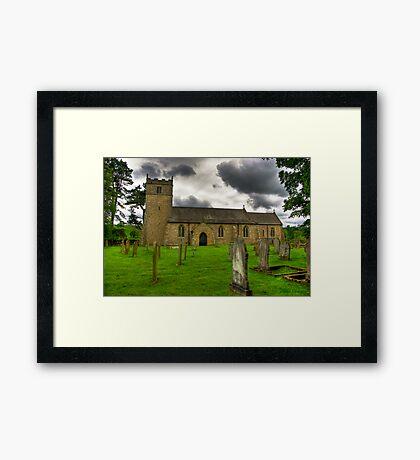 Holy Trinity - Coverham,Yorkshire Dales Framed Print