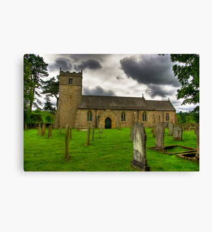 Holy Trinity - Coverham,Yorkshire Dales Canvas Print
