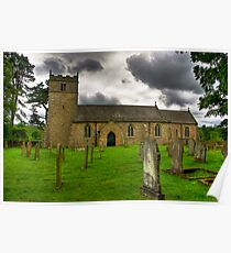 Holy Trinity - Coverham,Yorkshire Dales Poster