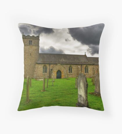 Holy Trinity - Coverham,Yorkshire Dales Throw Pillow