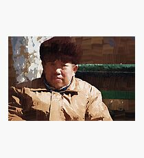 I agree with Mao Photographic Print