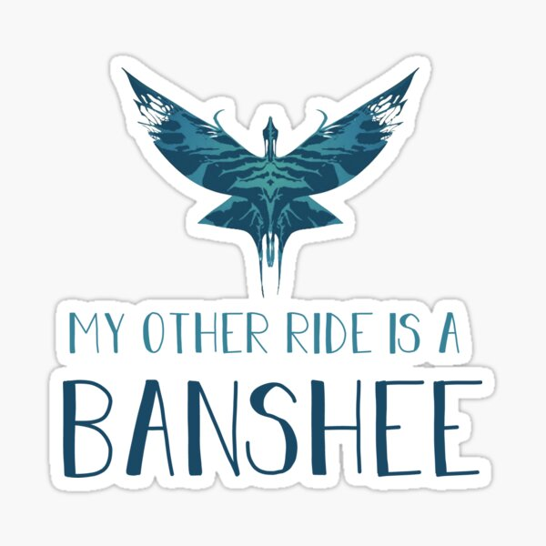 My Other Ride is a Banshee Sticker