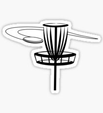 Disc Golf Drawing Stickers Redbubble