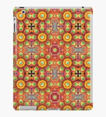 cover abstraction colors bumper garden floral purple seamless colorful repeat pattern iPad Case/Skin