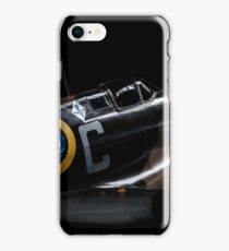 RAF Spitfire in the Hanger iPhone Case/Skin