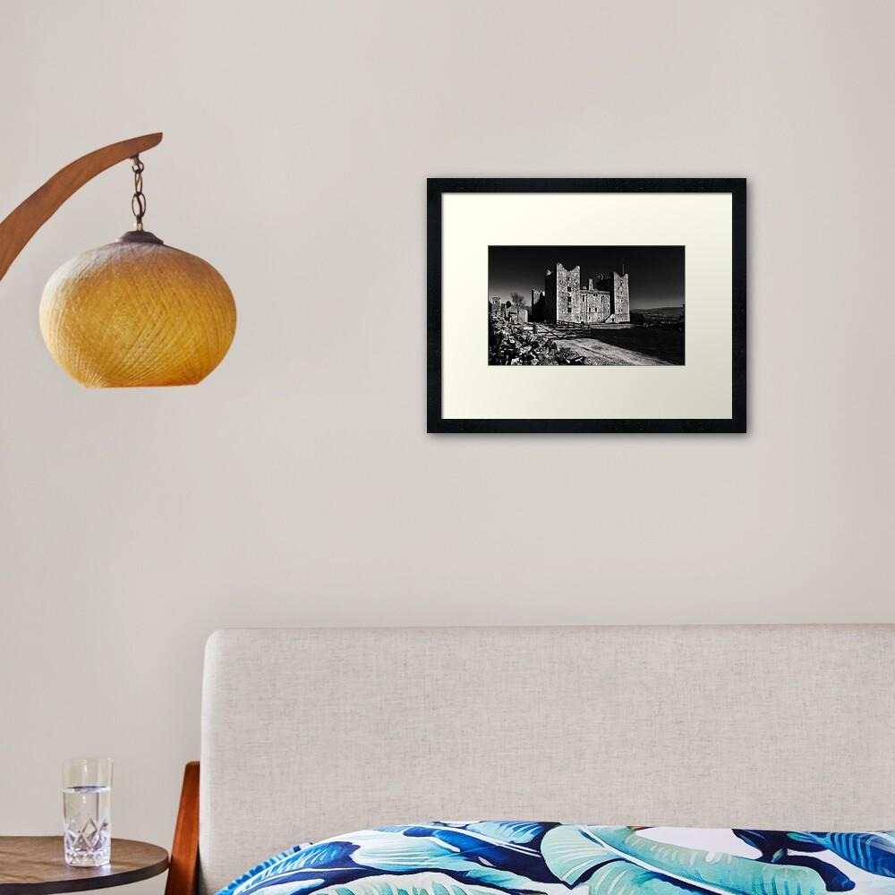 Castle Bolton Framed Art Print