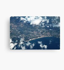 City from above Canvas Print