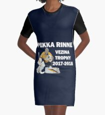 Pekka Rinne - Vezina Trophy Winner 2017-2018 - Nashville Predators Graphic T-Shirt Dress