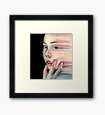 Stretch - Pastel Drawing Framed Print