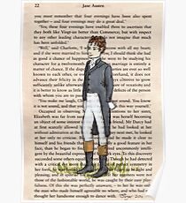 Mr Darcy Poster