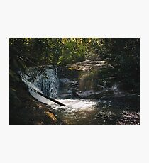 Waterfall Hideout Photographic Print