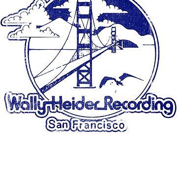 Wally Heider Recording San Francisco - Blue/White by BorleyB