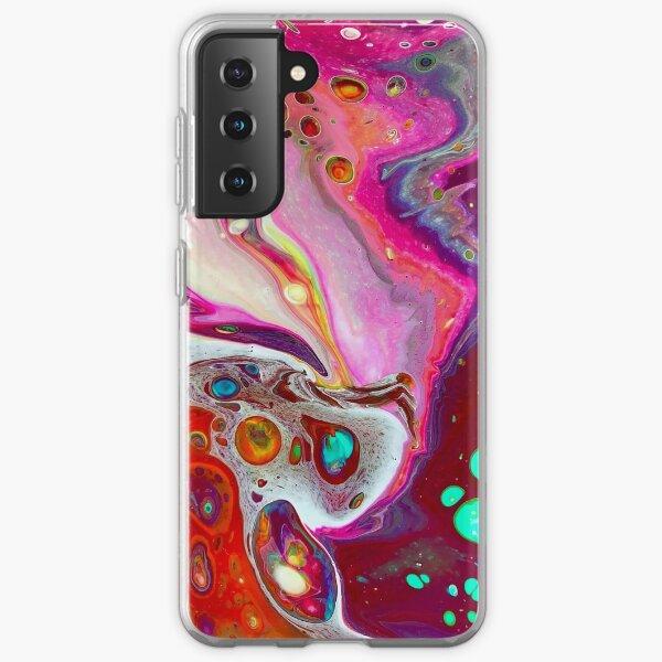 Fluid Acrylic Pour XXXII Samsung Galaxy Soft Case