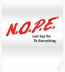 N.O.P.E. (Light Version) Poster