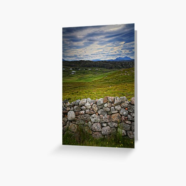Scottish Highlands, Scotland Greeting Card