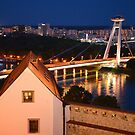 Bratislava night view by styles