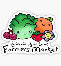 Friends of our local  Farmers Market Sticker