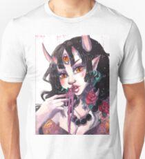 Three eyed oni demon girl Unisex T-Shirt
