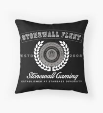 Stonewall fleet 08 3 Throw Pillow