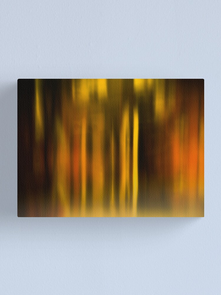 Alternate view of blurred landscape Canvas Print