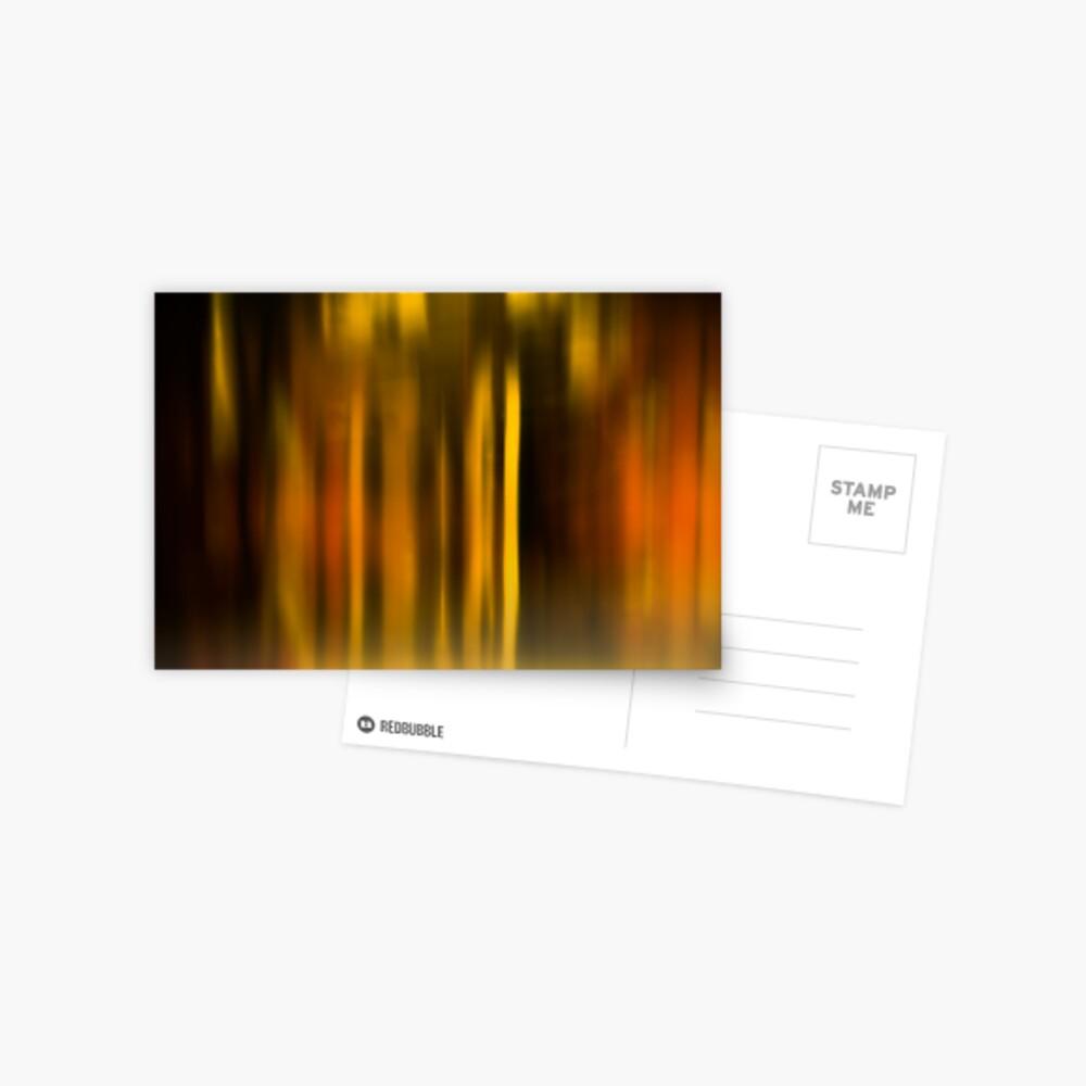 blurred landscape Postcard