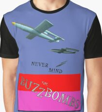 Never Mind The BuzzBombs Design Graphic T-Shirt
