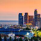 L.A. Glowing Dusk by Radek Hofman