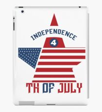 4th of July Independence Day  iPad Case/Skin