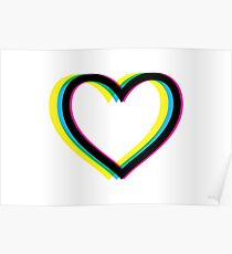 Heart (Queer Eye Logo Style) Poster