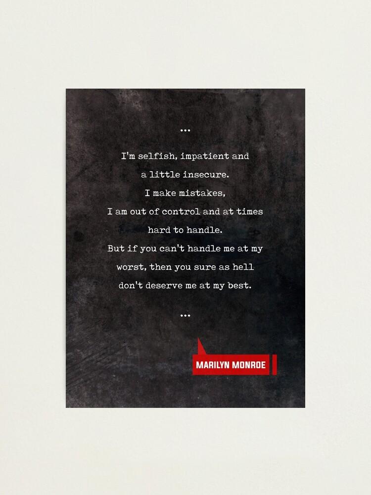 Marilyn Monroe Zitate Filmzitate Buch Liebhaber Geschenke Schreibmaschinen Zitate Fotodruck