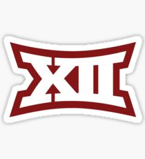Oklahoma Sooners BIG 12 Logo Sticker