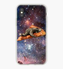 Pizza Sloth In Space iPhone Case