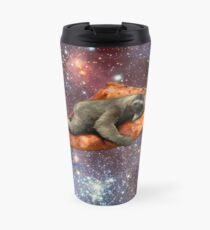 Pizza Sloth In Space Travel Mug