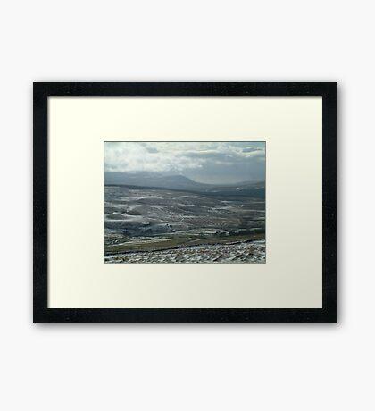 Dales Winter Too Framed Print