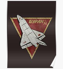CCCP Buran Space Shuttle V01 Poster