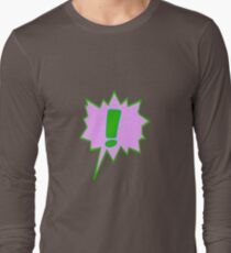 EXCLAMATION MARK SCREAMER BANG, Long Sleeve T-Shirt