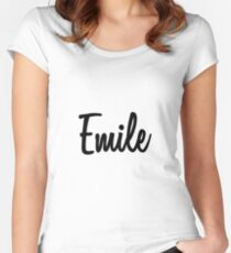 Hey Emile buy this now Women's Fitted Scoop T-Shirt