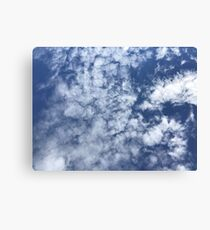 Partly Cloudy Skies - Abraham Lincoln Canvas Print