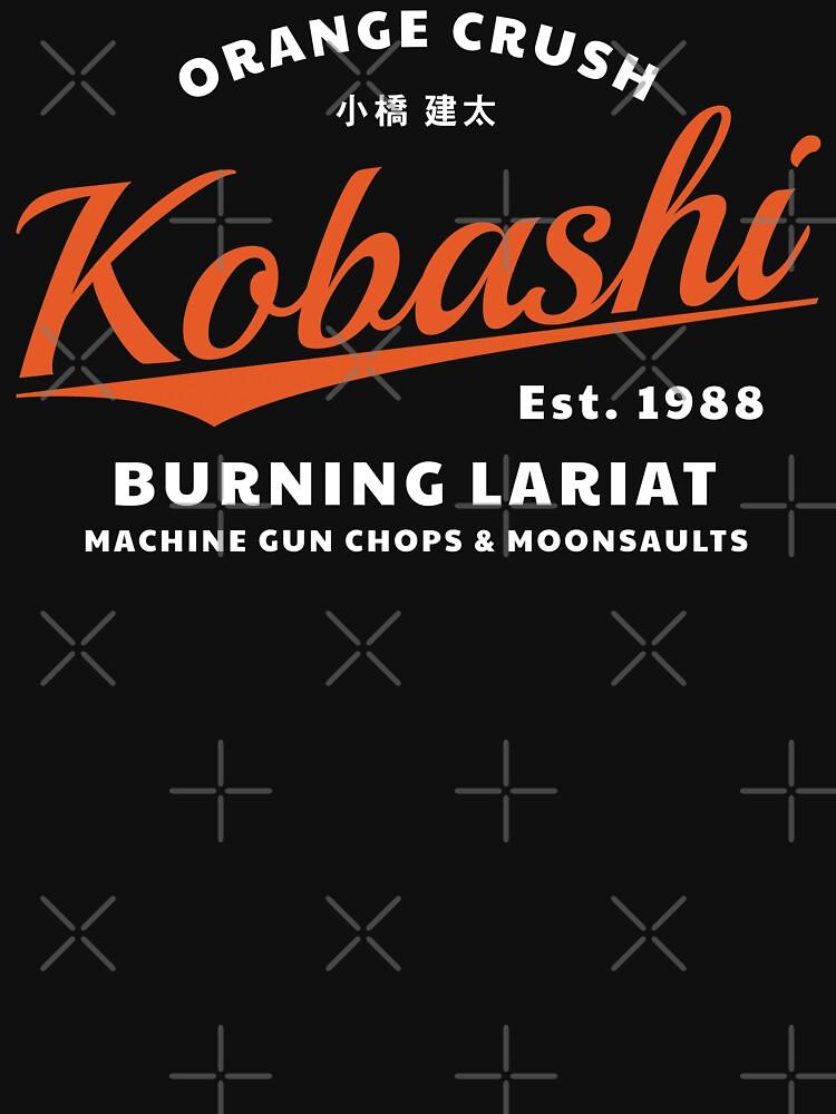 Kenta Kobashi - ORANGE CRUSH v2 von SonnyBone