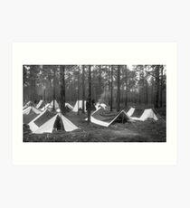Yankee camp Art Print