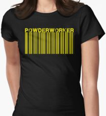 Powderworkers Women's Fitted T-Shirt